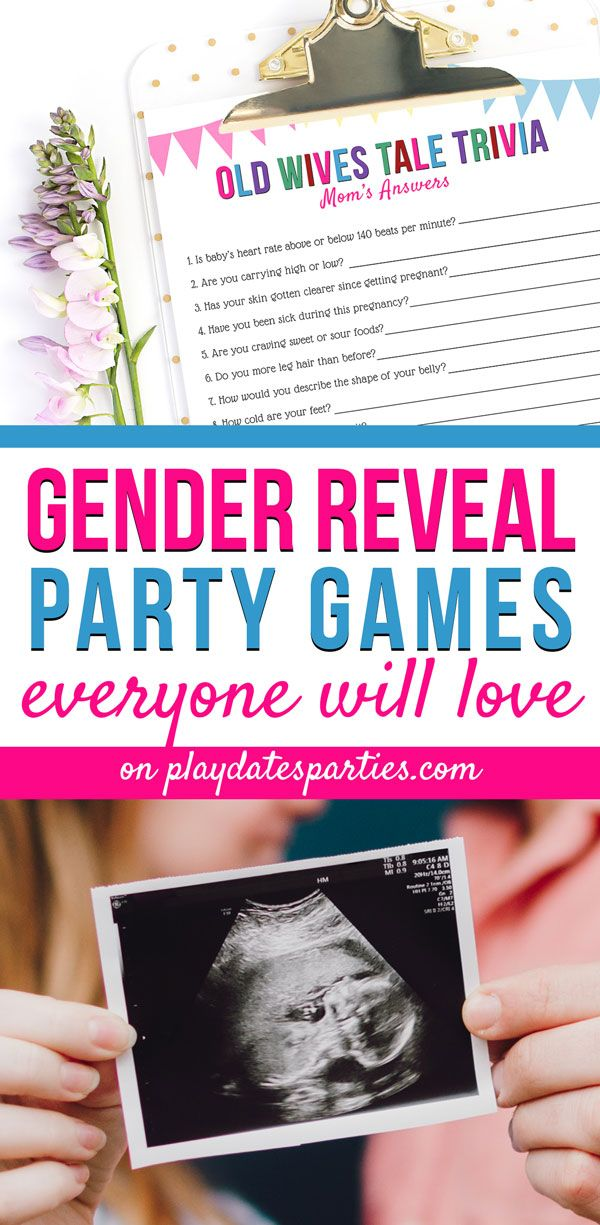 The Best Gender Reveal Party Games To Keep Them Guessing Gender Reveal Party Games Gender Reveal Games Activities Gender Reveal Party