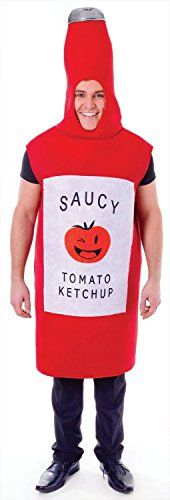 awesome       £12.66  Tomato Sauce Bottle, Adult Fancy Dress Costume, One SizeIncludes: All in one costumeAdult's ketchup bottle fancy dress costume...  Check more at http://fisheyepix.co.uk/shop/tomato-sauce-bottle-adult-fancy-dress-costume-one-size/