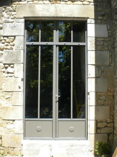 Menuiserie acier Rouillé - THEVENET PERE ET FILS (SARL) : portail, Poitiers, 79, 86, escalier, rénovation portail, ferronnier