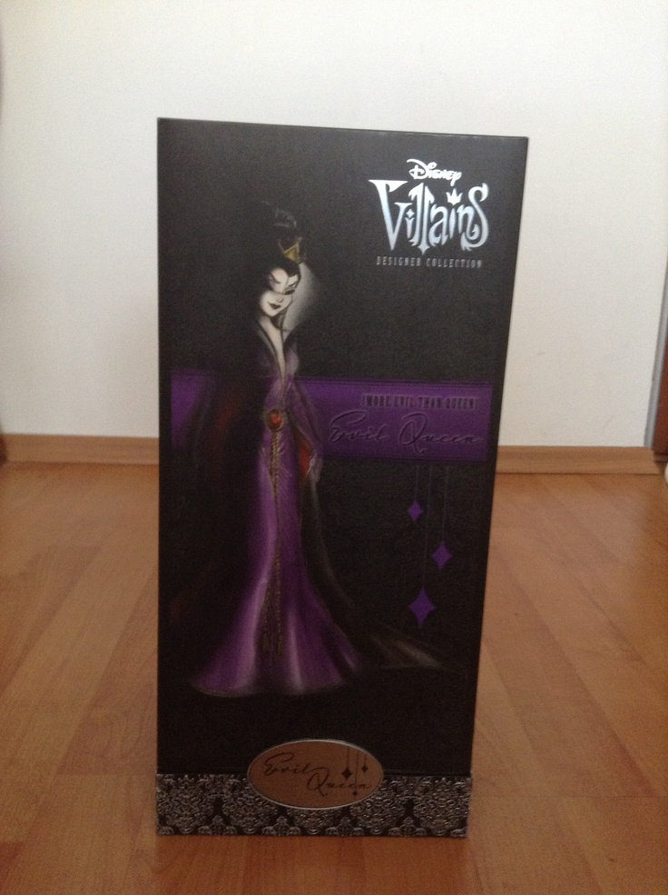 This is part of the Disney Villains Designer Collection. And she is...
