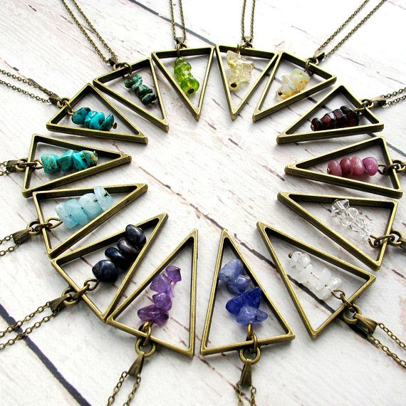Birthstone Jewelry-Birthstone Necklaces for Women-Stocking Stuffers for Women-Gemstone Necklaces-Christmas Gifts for Friends-Gifts Under 25 $24.99