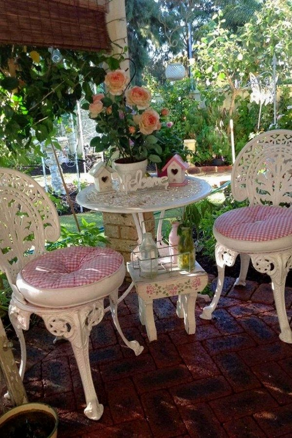10 Easy Shabby Chic Patio Decor Ideas You Can Do Yourself For Your Backyard Shabby Chic Ideas on decorating backyard ideas, wood backyard ideas, kitchen backyard ideas, oriental backyard ideas, french backyard ideas, whimsical backyard ideas, french country patio garden ideas, easter backyard ideas, halloween backyard ideas, industrial backyard ideas, patio pool furniture ideas, fun backyard ideas, transitional backyard ideas, houzz backyard ideas, farmhouse backyard ideas, gardening backyard ideas, rose cottage garden ideas, cottage backyard ideas, home backyard ideas, bohemian backyard ideas,