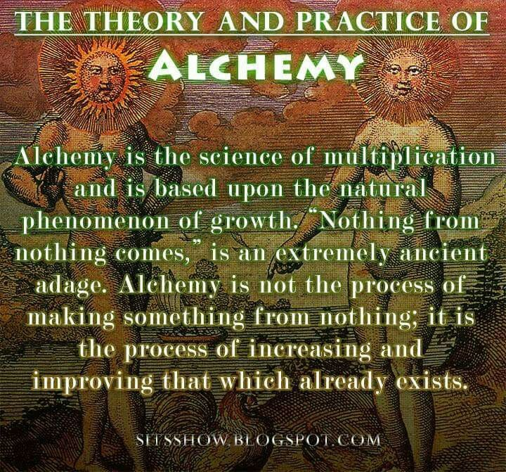The Theory and Practice of Alchemy