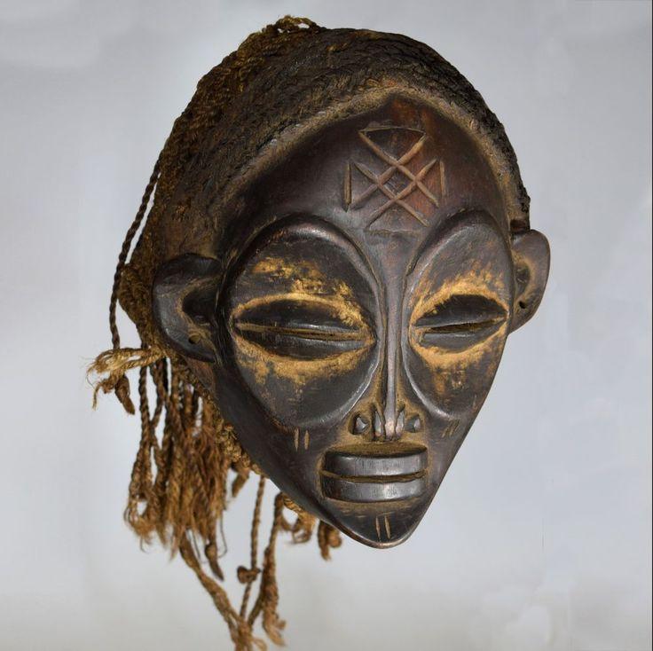 Pwo Female Mask - CHOKWE -  Kwango river region, Popokabaka, D.R Congo