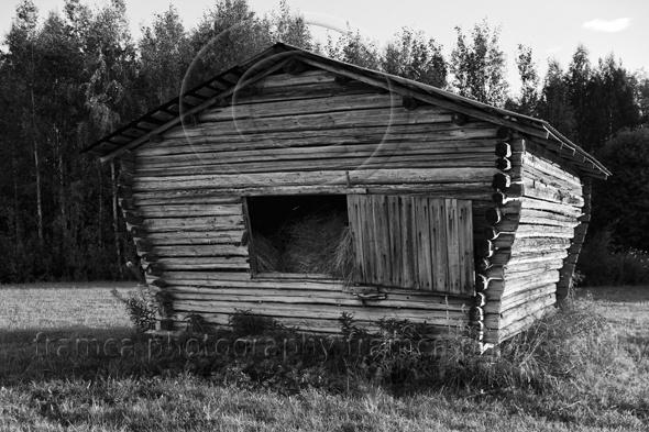 Hay barn in Sweden  www.framcaphotography.com