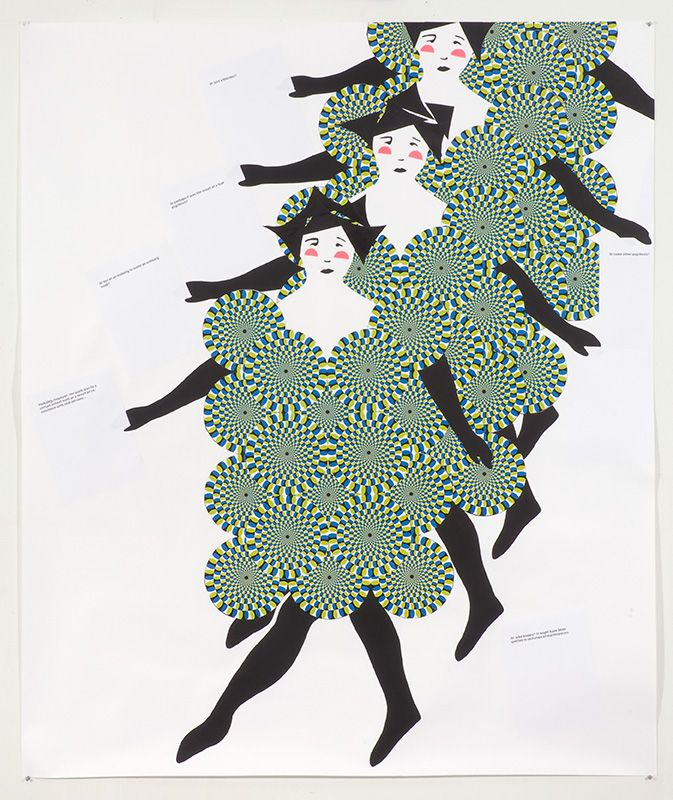 chorus line, frances stark: Colors Paper, Modern Art, France Starkchorus, Frances Stark, Contemporary Art, 2008 Paper, Artworks Illustrations, Paper Collage, Drawing