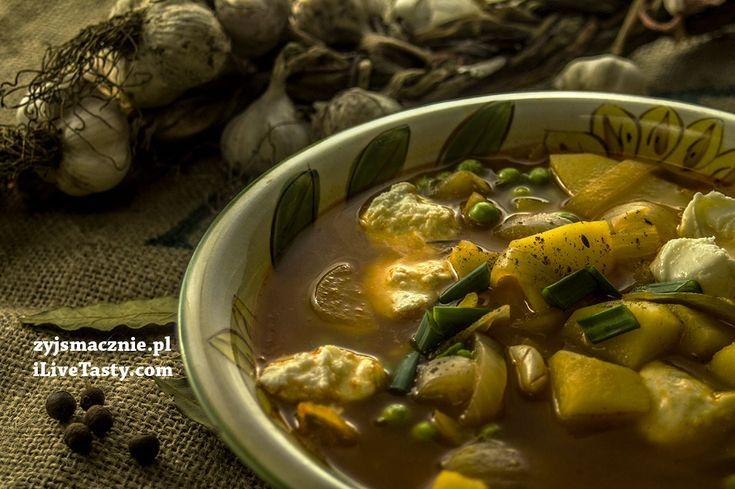 przepis na pyszną zupę cebulową