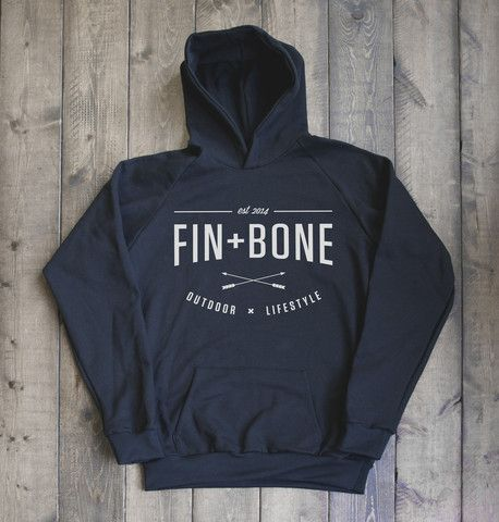 MADE IN OUR HOME TOWN. WINNIPEGS OWN OUTDOOR LIFESTYLE COMPANY. Canadian Made New Contained Pullover Hoodie – Fin+Bone Outdoors $79.99