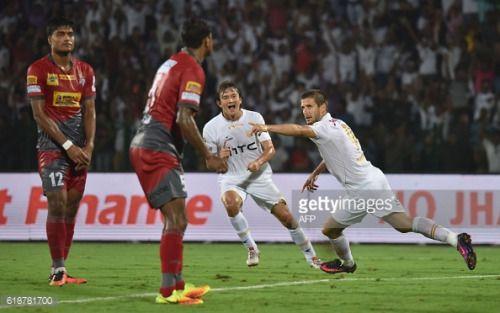 Northeast United FC's forward Emiliano Alfaro ®... #neunkirchende: Northeast United FC's forward Emiliano Alfaro ®… #neunkirchende