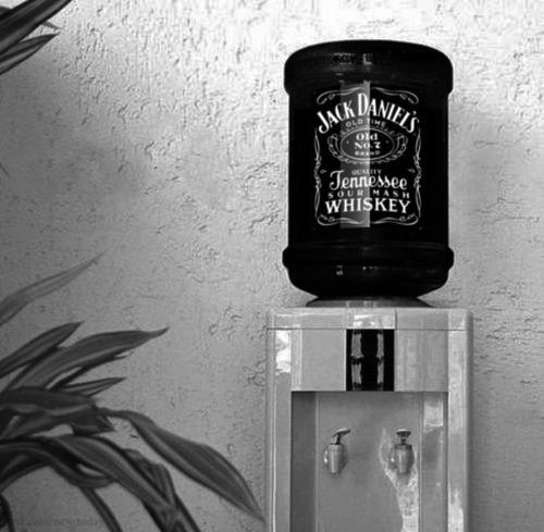This is the type of water cooler we need.Happy Hour, Jack Daniel, Offices, Kitchens Accessories, Coolers, Places, Jack O'Connel, Drinks, Man Caves