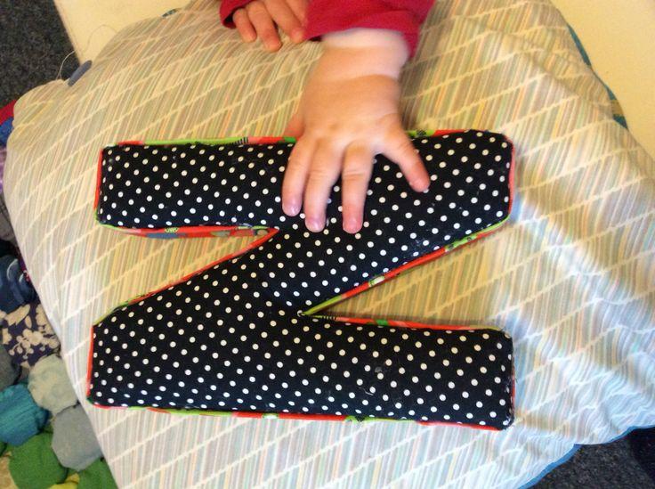 Fabric covered N