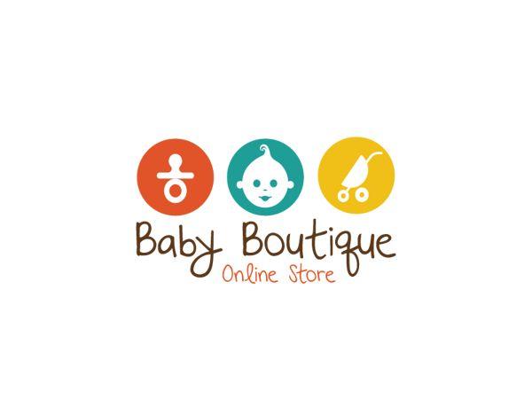 Baby Butique Logo Design by Aleksandar Nikcevic, via Behance