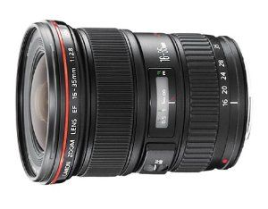 Canon EF 16-35mm f/2.8L USM Ultra Wide Angle Zoom Lens for Canon SLR Cameras  Canon $1,712.29