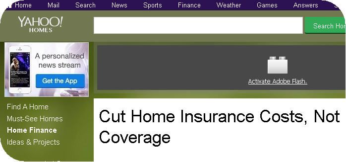 Cut Home Insurance Costs, Not Coverage