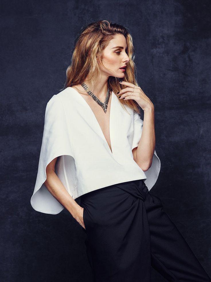 Blusa blanca con mangas amplias