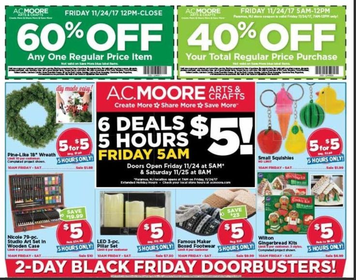 AC Moore Black Friday Deals 2017 – View Full Ad Scan  http://gazettereview.com/2017/11/ac-moore-black-friday-deals-2017-view-full-ad-scan/