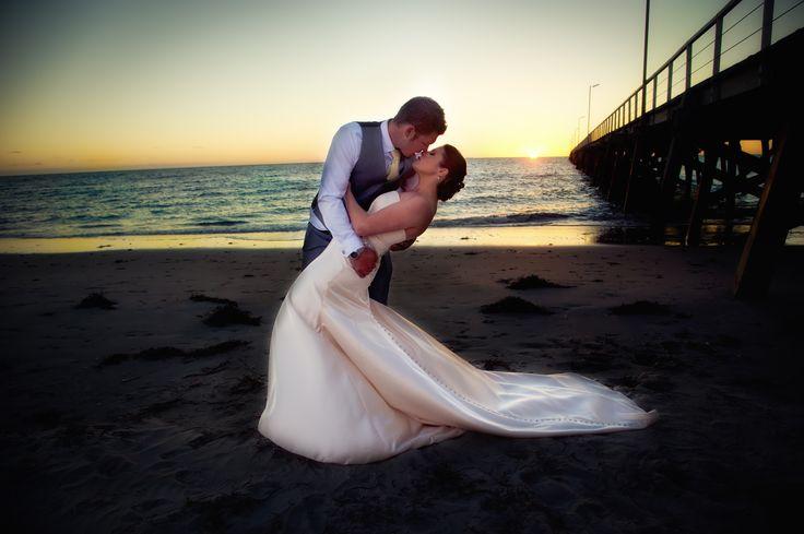 Semaphore Beach Wedding - Kylie & Leigh / wedding photography Adelaide wedding photography