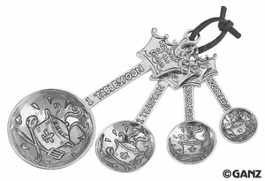 Queen of the Kitchen Measuring Spoons $18.95