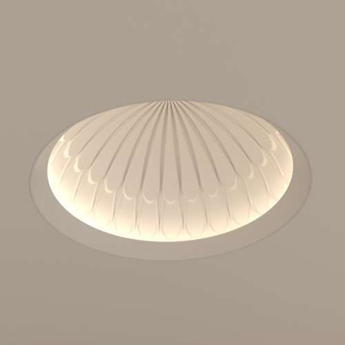 Element by tech lighting element reflections bloom 12 inch dome trim