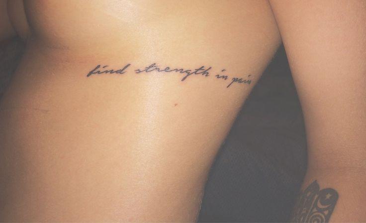 """""""finde Kraft im Schmerz"""" """"finde Kraft im Schmerz"""" – Tattoo ideen"""