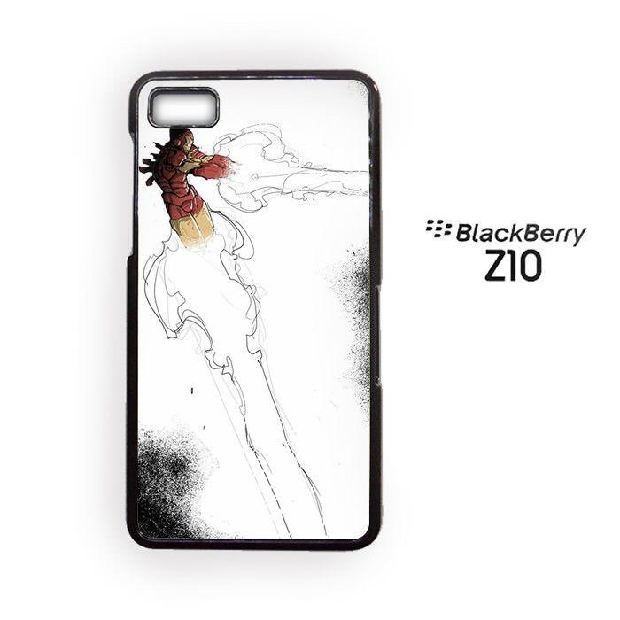 Iron Man art for Blackberry Z10/Blackberry Q10 Phonecases