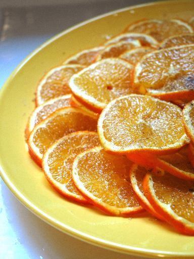 Recette Salade d'oranges à la cannelle, notre recette Salade d'oranges à la cannelle - aufeminin.com