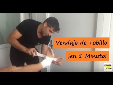 VENDAJE para el TOBILLO en Menos de 1 Minuto, por Pablo Llanes