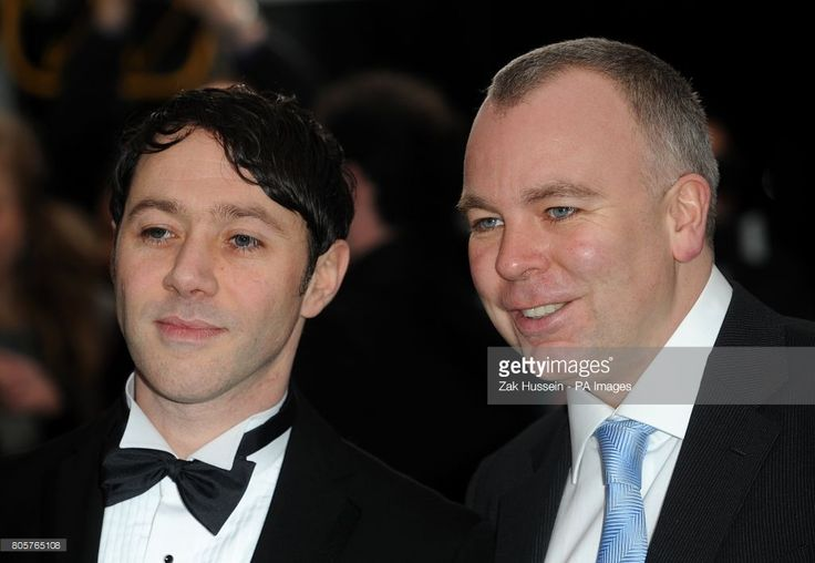 Steve Pemberton (right) and Reece Shearsmith (left) arriving for the British Comedy Awards 2009 at London Television Studios