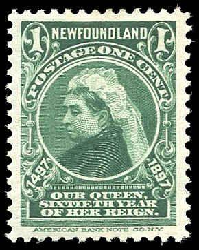 Newfoundland Stamps | 1897