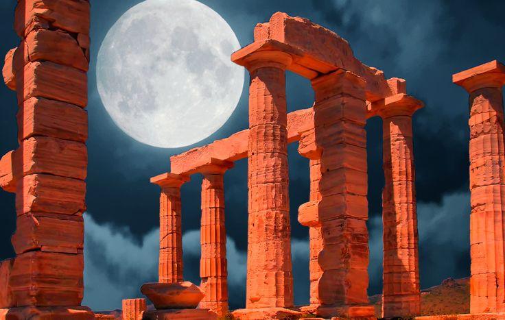 Temple of Poseidon – Cape Sounion  Athens  Greece via @revealgreece