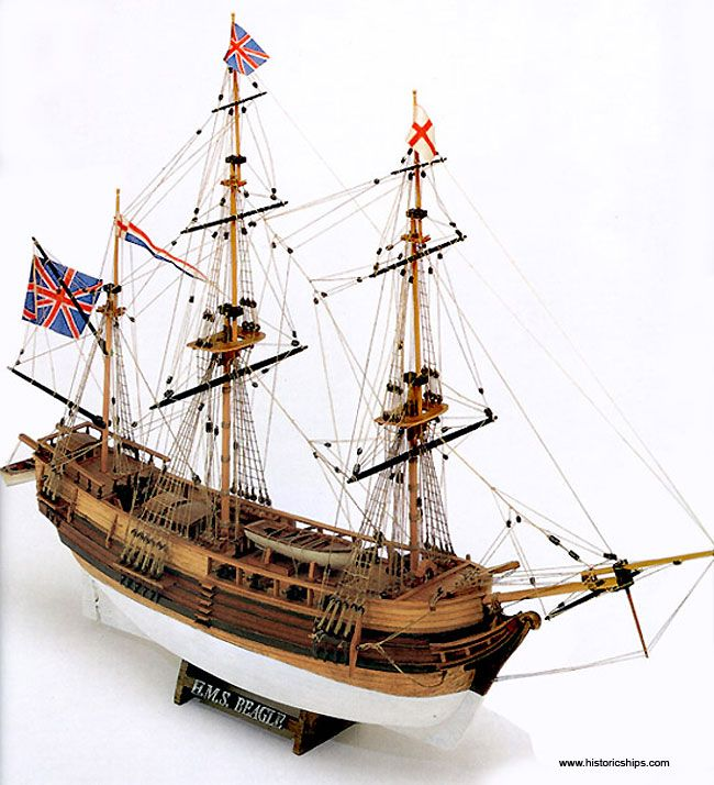 HMS Beagle - Model Ship Kit HMS Beagle by Mamoli Ship Models