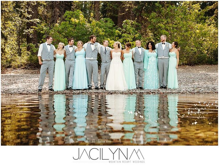 Aqua wedding colors 25 pinterest glacier national park summer wedding junglespirit Gallery