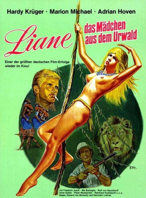 Лиана, девушка из первобытного леса