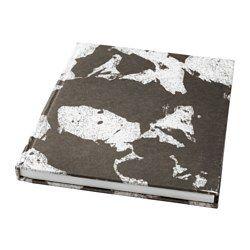 IKEA - SVÄRTAN, Skicár, Radi píšete a kreslíte? Popustite uzdu svojej fantázii na hladkých bielych hárkoch tohto skicára s obalom z ručne vyrobeného papiera.