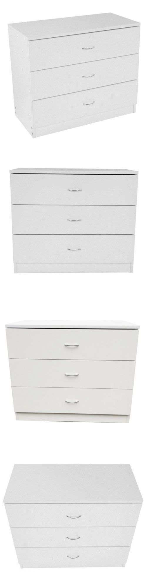 Dressers and Chests of Drawers 114397  New 3 Drawer Chest Nightstand  Storage Cabinet Bedroom FurnitureBest 25  White chest of drawers ideas only on Pinterest   White  . Hickory White Furniture Ebay. Home Design Ideas
