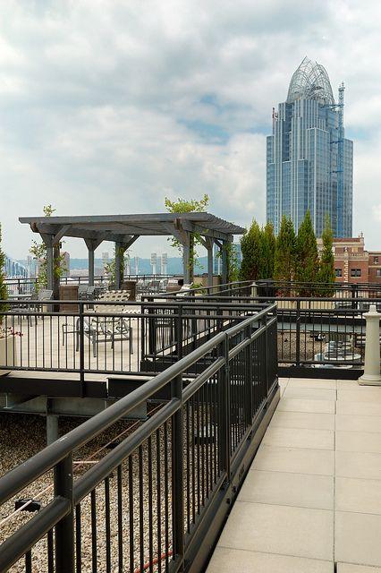 Cincinnati Art Academy Roof, Cincinnati, Ohio