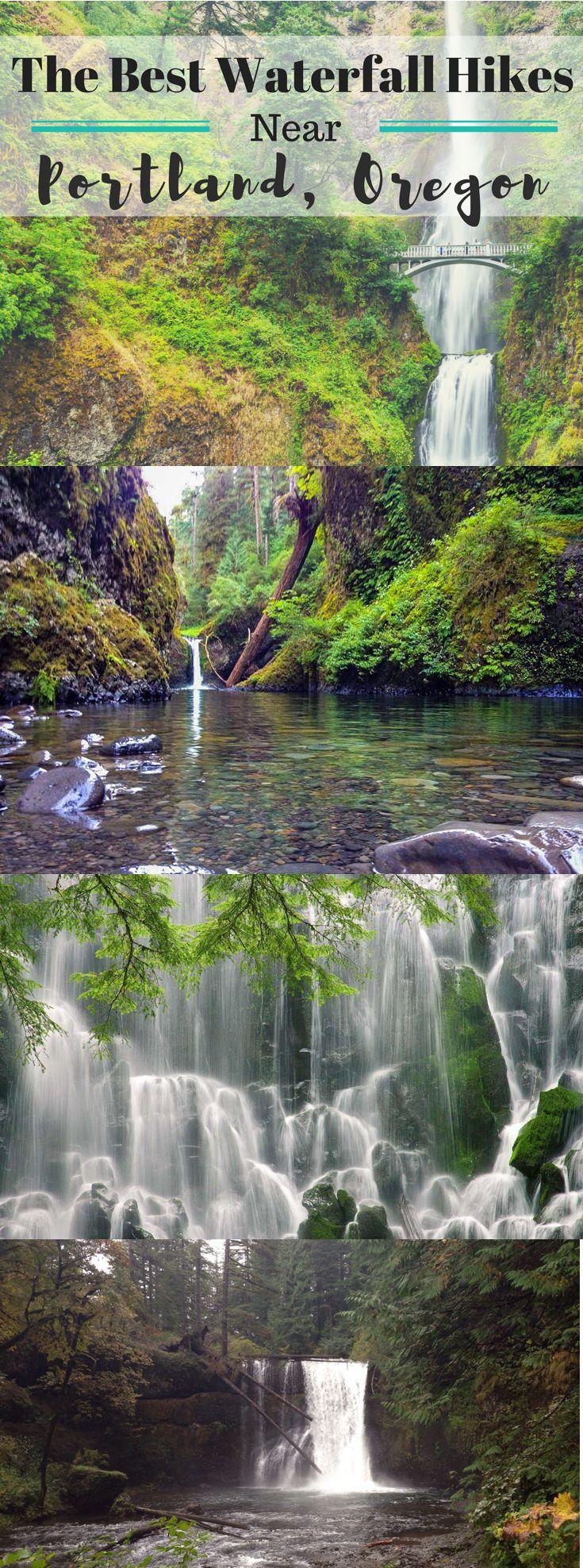 The best waterfall hikes near Portland, Oregon.