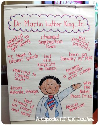 Free Martin Luther King Jr. Ideas for the Classroom