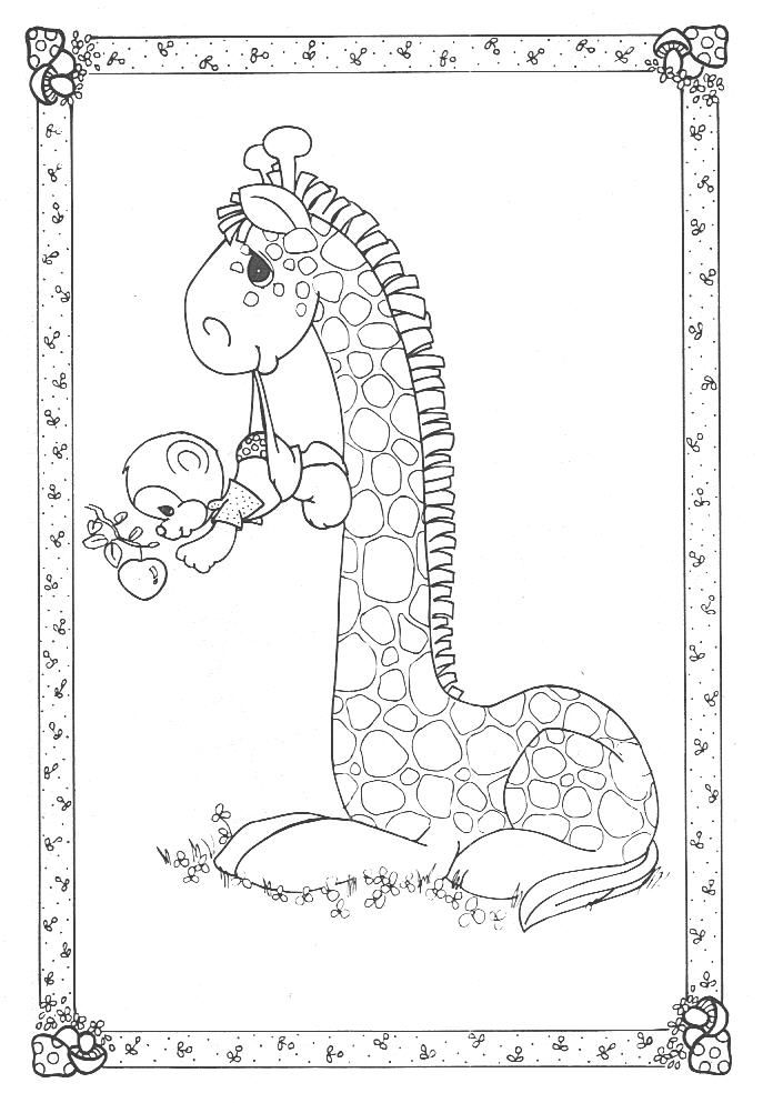precious moments animals coloring pages bing images