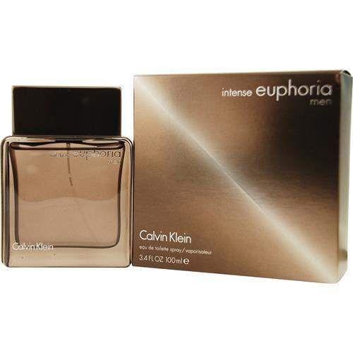 Euphoria Men Intense By Calvin Klein Edt Spray 3.4 Oz