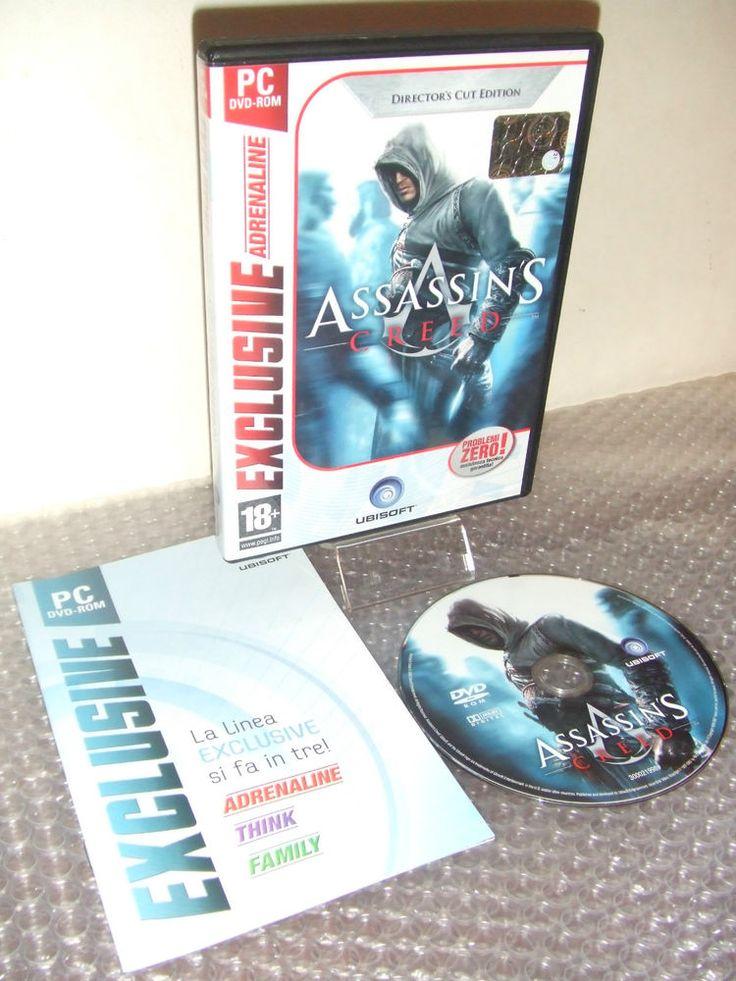 ASSASSIN S CREED Director s Cut Edition - Gioco PC DVD-ROM - ITALIANO