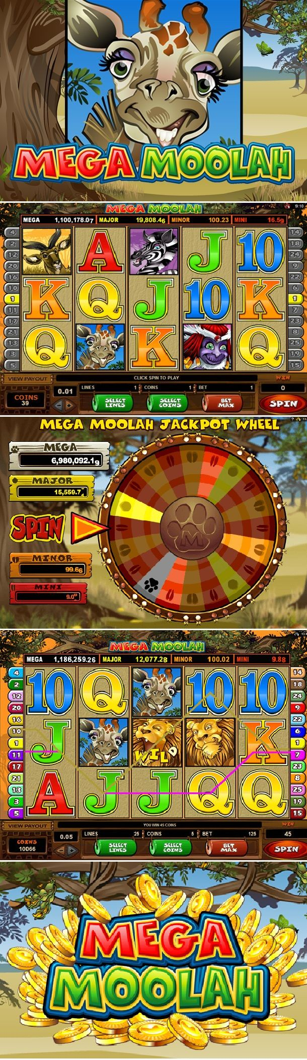 Mega moolah slot review from microgaming one the preferable and exoteric game for the slot