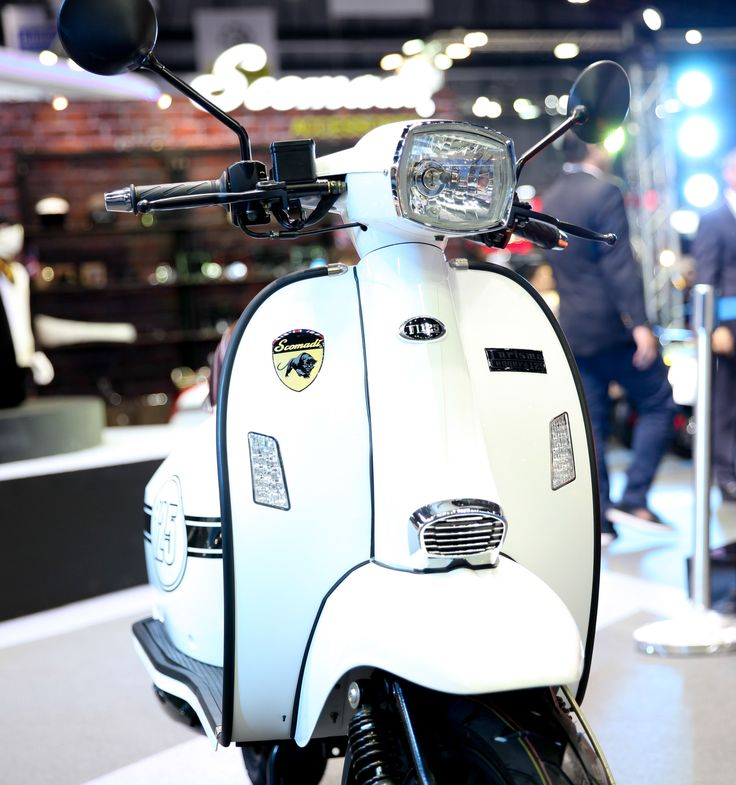 Scomadi TL125 Scooter : White (Special Color)