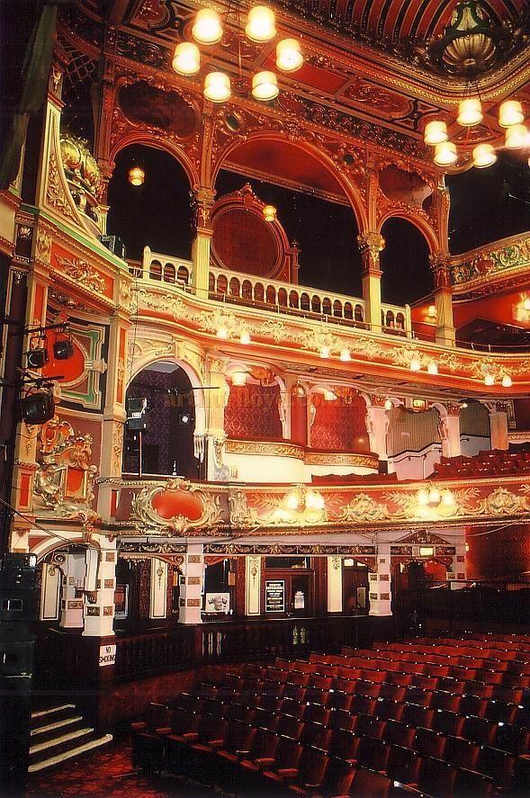 Hackney Empire Theatre, London. IT'S BEAUTIFUL!!