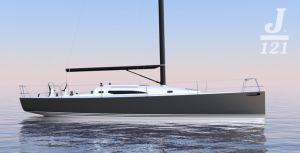 """Melges lancia il suo 40 piedi? J Boats non sta con le mani in mano in questa sfida dal gusto yankee e """"risponde"""" con il nuovo J/121, nato dalla matita di Alan Johnstone, un 40' offshore che promette grandi prestazioni…"""