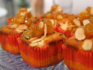 Muffins de manzanas y muslix