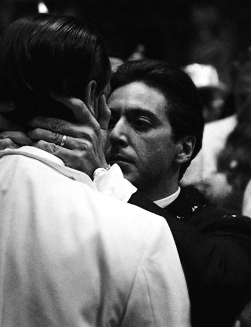 I know it was you, Fredo. You broke my heart. You broke my heart! Al Pacino and John Cazale in The Godfather