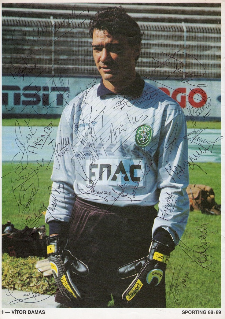 Vítor Damas - Legendary Sporting goal-keeper, who sadly passed away too early.