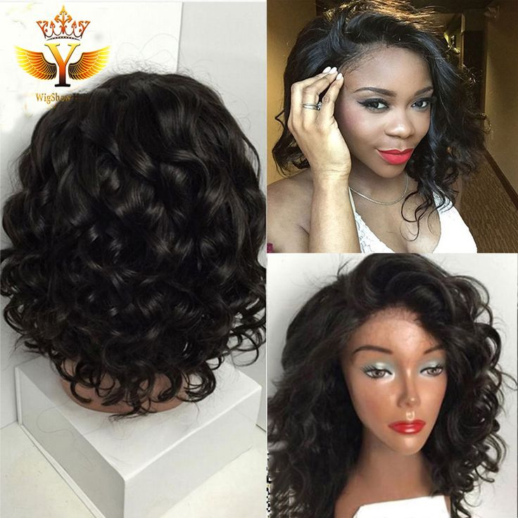 Find More Human Wigs Information about 7A Quality Short Full Lace Human Hair Wigs For Black Women Brazilian Virgin Hair Glueless Bob Wavy Lace Front Wig With Baby Hair,High Quality wig base,China wig queen Suppliers, Cheap wig clips and combs from Wigshow Hair Products Co.,Ltd on Aliexpress.com