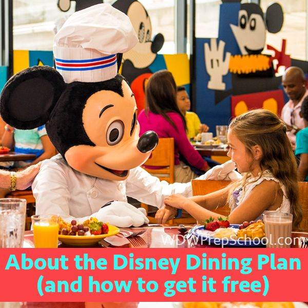 About the Disney Dining Plan (and how to get it for free) - tips on using DDP credits and how to increase your chances of getting Free Dining